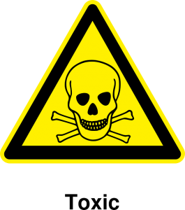 toxic sign.