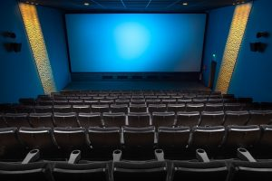 A theater room