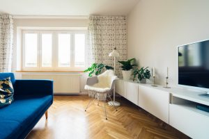Renting out your apartment when its in a tip-top condition is the best time to do it