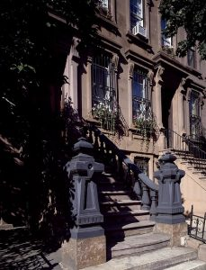 Brownstones are abundant in the Upper East Side.