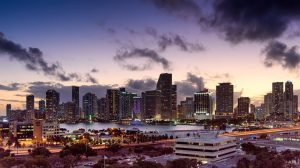 Panorama of Miami