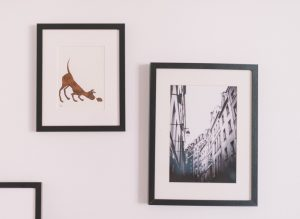 images on the walls