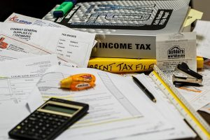Paperwork and taxes