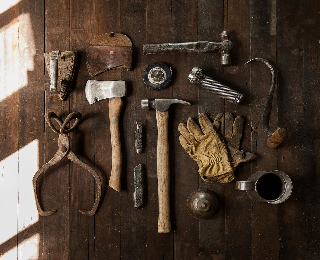 Tips for storing your tools