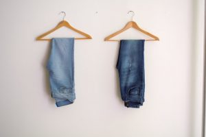 Clothes on hangers for which you need Tips for storing your delicate possessions