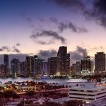 the city skyline hides many business opportunities in Miami