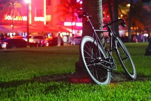 a bicycle can mean a day of family fun in Miami Beach